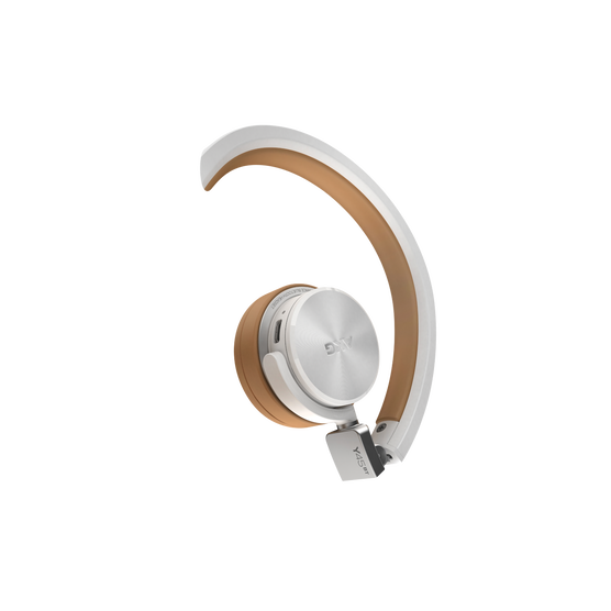Y45BT - White - High performance foldable Bluetooth® headset - Detailshot 1