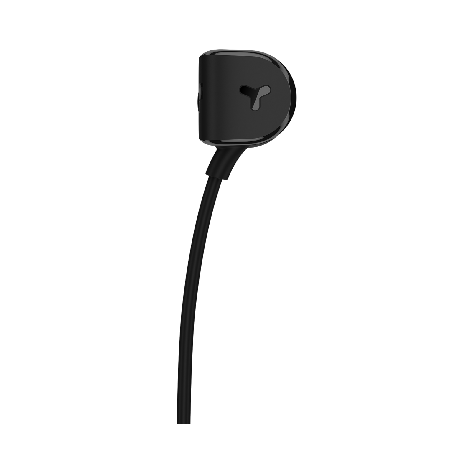 Y20U - Black - Signature AKG in-ear stereo headphone that takes your calls - Back