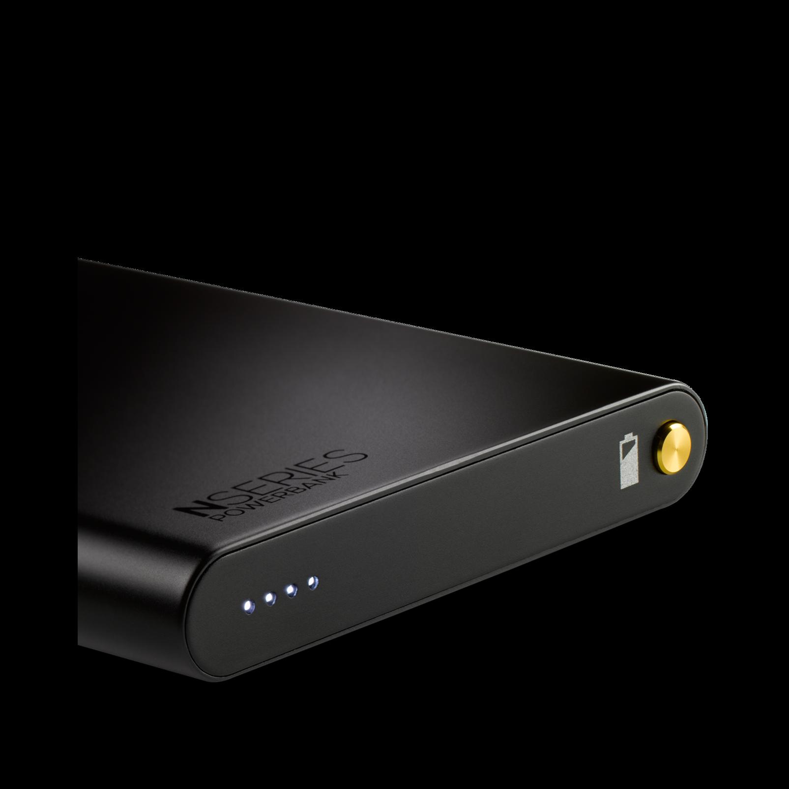 N90Q - Black - Reference class auto-calibrating noise-cancelling headphones - Detailshot 3